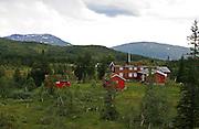 Schulzhytta er en del av DNTs rutenett i Sylan, og ligger midt i nasjonalparken. Eid av Trondhjems Turistforening. Schulzhytta is owned by the Norwegian trekking assosiation, Den norske turistforening/TT.