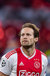 10-04-2019 NED: Champions League AFC Ajax - Juventus,  Amsterdam<br /> Round of 8, 1st leg / Ajax plays the first match 1-1 against Juventus during the UEFA Champions League first leg quarter-final football match / Daley Blind #17 of Ajax