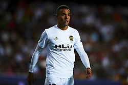 September 19, 2018 - Valencia, Spain - Rodrigo Moreno during the Group H match of the UEFA Champions League between Valencia CF and Juventus at Mestalla Stadium on September 19, 2018 in Valencia, Spain. (Credit Image: © Jose Breton/NurPhoto/ZUMA Press)