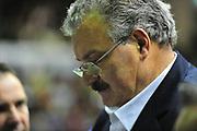 DESCRIZIONE : Sassari Lega A 2012-13 Dinamo Sassari - Scavolini Pesaro<br /> GIOCATORE :Meo Sacchetti<br /> CATEGORIA :Coach<br /> SQUADRA : Dinamo Sassari<br /> EVENTO : Campionato Lega A 2012-2013 <br /> GARA : Dinamo Sassari - Scavolini Pesaro<br /> DATA : 24/02/2013<br /> SPORT : Pallacanestro <br /> AUTORE : Agenzia Ciamillo-Castoria/M.Turrini<br /> Galleria : Lega Basket A 2012-2013  <br /> Fotonotizia : Sassari Lega A 2012-13 Dinamo Sassari - Scavolini Pesaro<br /> Predefinita :