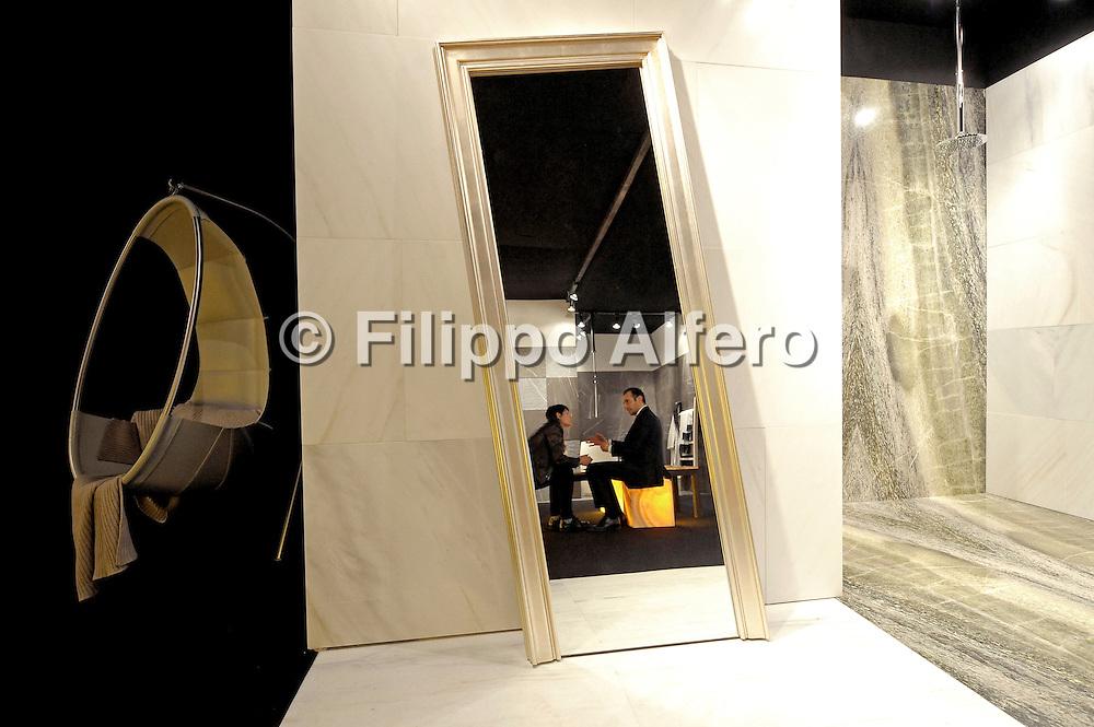 &copy; Filippo Alfero<br /> Stand Mazza - Operart presso Expocasa 2012<br /> Torino, 02/03/2012