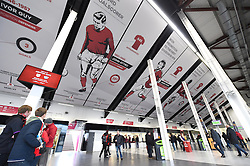 South Stand concourse at Ashton Gate showing the newly installed heritage banners - Mandatory by-line: Paul Knight/JMP - Mobile: 07966 386802 - 05/12/2015 -  FOOTBALL - Ashton Gate Stadium - Bristol, England -  Bristol City v Blackburn Rovers - Sky Bet Championship