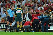 Rugby - S15 Reds v Waratahs