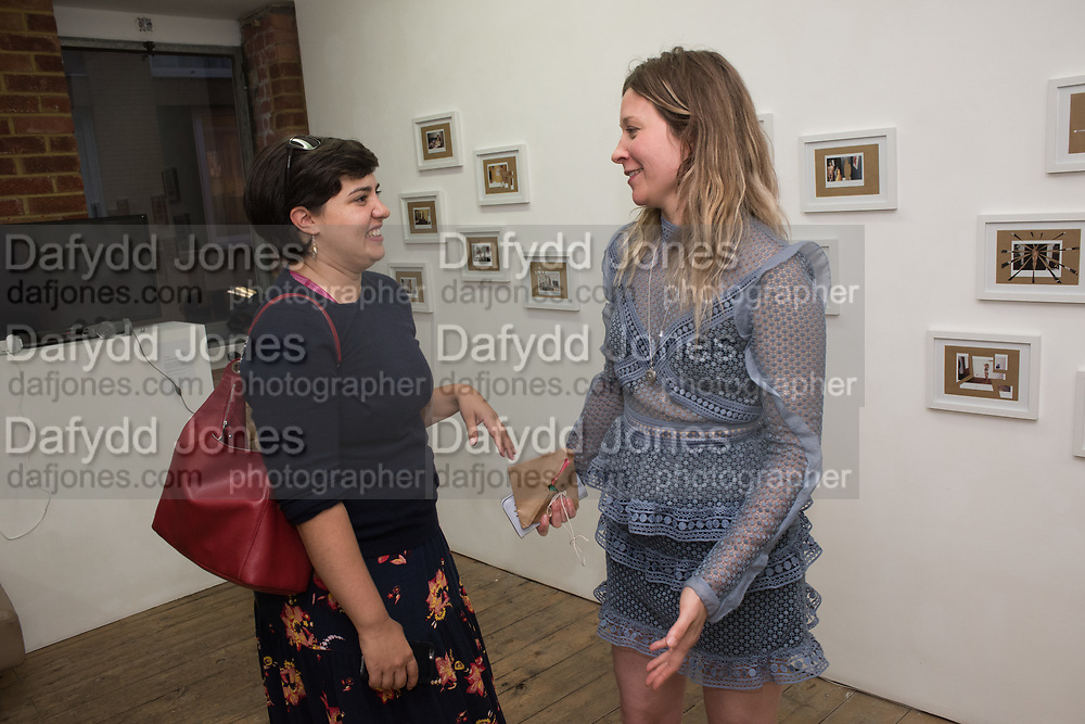 STEPHANIE SCOTT; DEBBIE CASTRO,  NEW PHOTOGRAPHS | OUTSIDE/INSIDE | Philip Volkers and Debbie Castro. Private View, Bermondsey Project Space, Bermondsey St. London.