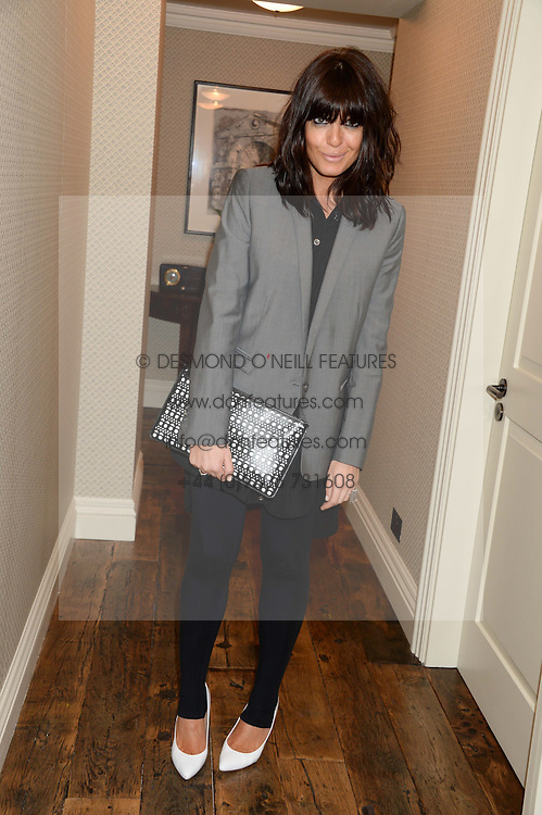CLAUDIA WINKLEMAN at a party to celebrate the publication of Restaurant Babylon by Imogen Edwards-Jones held at Little House, 12a Curzon Street, London on 2nd July 2013.