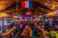 The Bierstube on Big Mountain at Whitefish Mountain Resort in Whitefish, Montana, USA