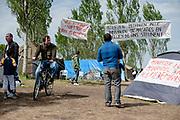 Protesten tentenkamp Ter Apel