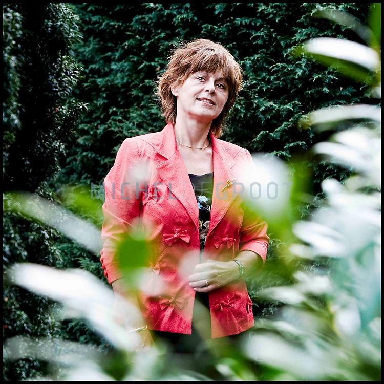 Tienke Koning, Ubbo Emmiusfonds op September 15, 2007 in Groningen, the Netherlands.