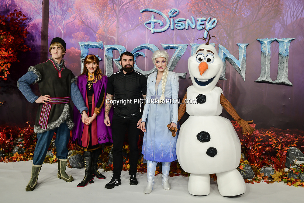 Ant Middleton attend European Premiere of Frozen 2 on 17 November 2019, BFI Southbank, London, UK.
