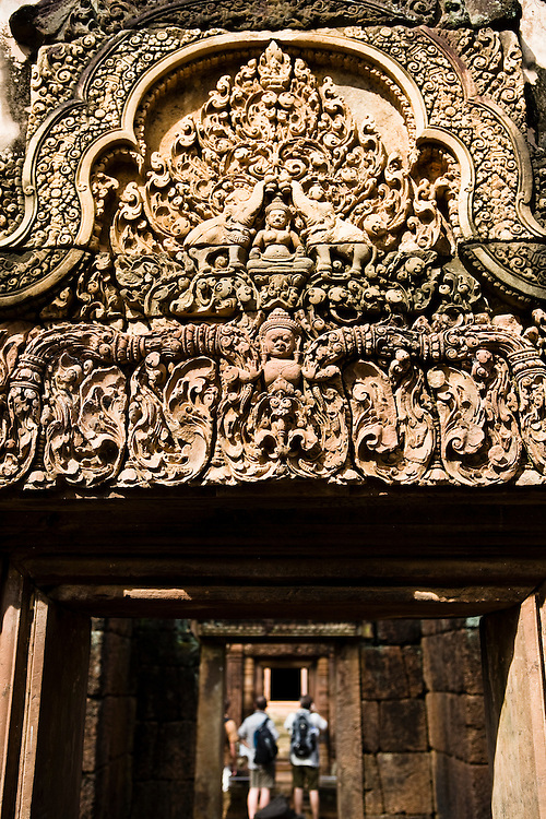 Banteay Srei temple. Angkor, Siem Reap, Cambodia. Siem Reap, Cambodia