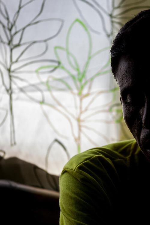 Cotabato, Mindanao, Philippines - JUNE 19: Tato, a prisoner at Kotabato Provincial Jail.  Prisons are a recruitment center for terrorist groups in Mindanao.