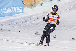 12.03.2019, Lysgards Schanze, Lillehammer, NOR, FIS Weltcup Skisprung, Raw Air, Lillehamer, Einzelbewerb, Damen, im Bild Maren Lundby (NOR) // Maren Lundby of Norway during the ladie's individual competition of the 2nd Stage of the Raw Air Series of FIS Ski Jumping World Cup at the Lysgards Schanze in Lillehammer, Norway on 2019/03/12. EXPA Pictures © 2019, PhotoCredit: EXPA/ Tadeusz Mieczynski
