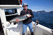 King Salmon, Fishing, Talon Lodge, Sitka, Southeast, Alaska