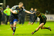 11/11/2016, AIL Division 2C Rugby at Old Balrreask, Navan<br /> Navan RC vs Boyne RC<br /> Bryan McKeever (Navan RC) &amp; Ronan O`Brien (Boyne)<br /> Photo: David Mullen /www.cyberimages.net / 2016<br /> ISO: 12800; Shutter: 1/500; Aperture: 2.8; <br /> File Size: 3.5MB<br /> Print Size: 8.6 x 5.8 inches