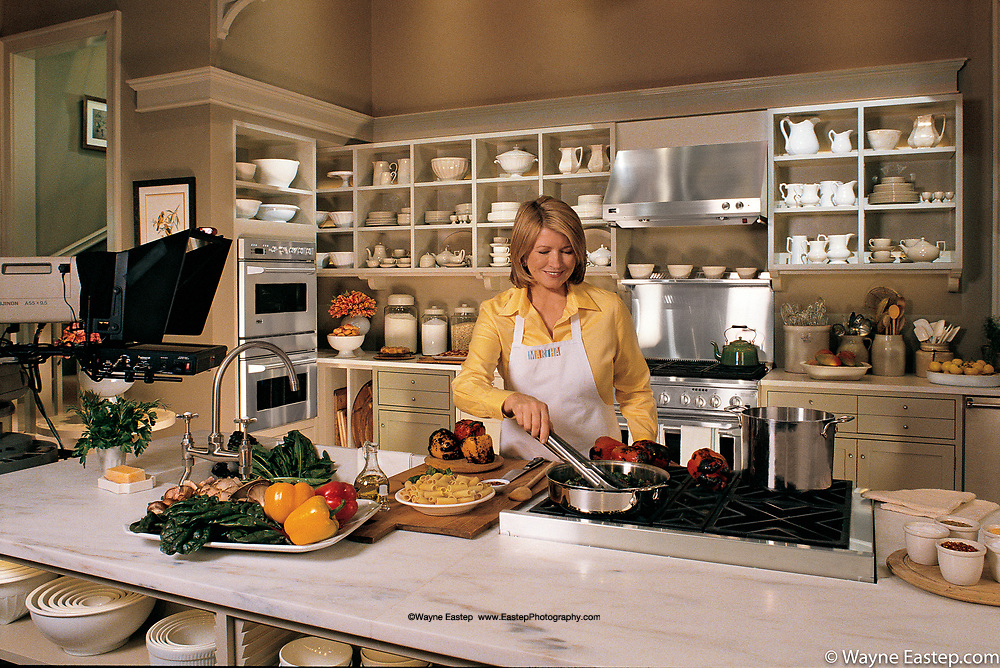 Martha Stewart Studio Kitchen, NYC Ge-Monogram brand campaign