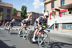 Liane Lippert (GER) of \sun accelerates after a corner on Stage 1 of the Madrid Challenge - a 12.6 km team time trial, starting and finishing in Boadille del Monte on September 15, 2018, in Madrid, Spain. (Photo by Balint Hamvas/Velofocus.com)