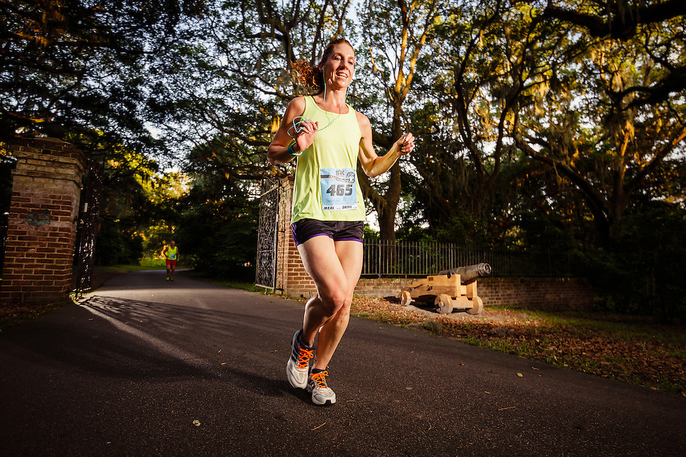 Images from the 2015 Race the Landing 5k series race #2 at Charlestowne Landing in Charleston, South Carolina.