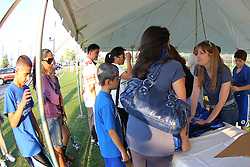 October 5, 2012; Ridgefield Park, NJ; USA; Images from the 2012 NJ AliveAndKickn Kickathon at the new Overpeck County Park in Ridgefield Park, NJ