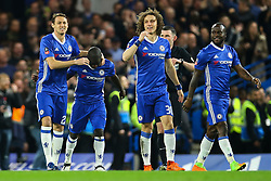 Goal, Ngolo Kante of Chelsea scores, Chelsea 1-0 Manchester United - Mandatory by-line: Jason Brown/JMP - 13/03/2017 - FOOTBALL - Stamford Bridge - London, England - Chelsea v Manchester United - Emirates FA Cup Quarter Final