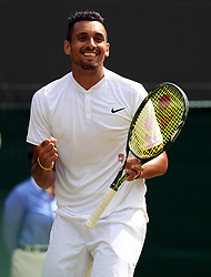 File photo dated 03-07-2016 of Nick Kyrgios
