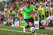 Forest Green Rovers Christian Doidge(9) runs forward during the Pre-Season Friendly match between Forest Green Rovers and Bristol Rovers at the New Lawn, Forest Green, United Kingdom on 21 July 2018. Picture by Shane Healey.