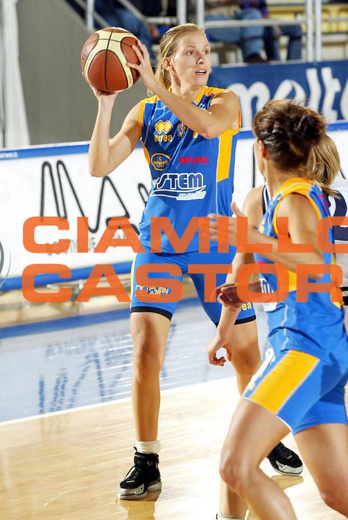 DESCRIZIONE : Taranto Lega A1 Femminile 2005-06 Terra Sarda Alghero Stem Marine Parma <br /> GIOCATORE : Corbani <br /> SQUADRA : Stem Marine Parma <br /> EVENTO : Campionato Lega A1 Femminile  2005-2006 <br /> GARA : Terra Sarda Alghero Stem Marine Parma <br /> DATA : 02/10/2005 <br /> CATEGORIA : <br /> SPORT : Pallacanestro <br /> AUTORE : Agenzia Ciamillo-Castoria