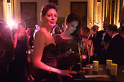 HOLLY GILLIAM; AMY GILLIAM; , The Secret Winter Gala in aid of Save the Children and sponsored by Bulgari. Guildhall. London. 26 November 2013
