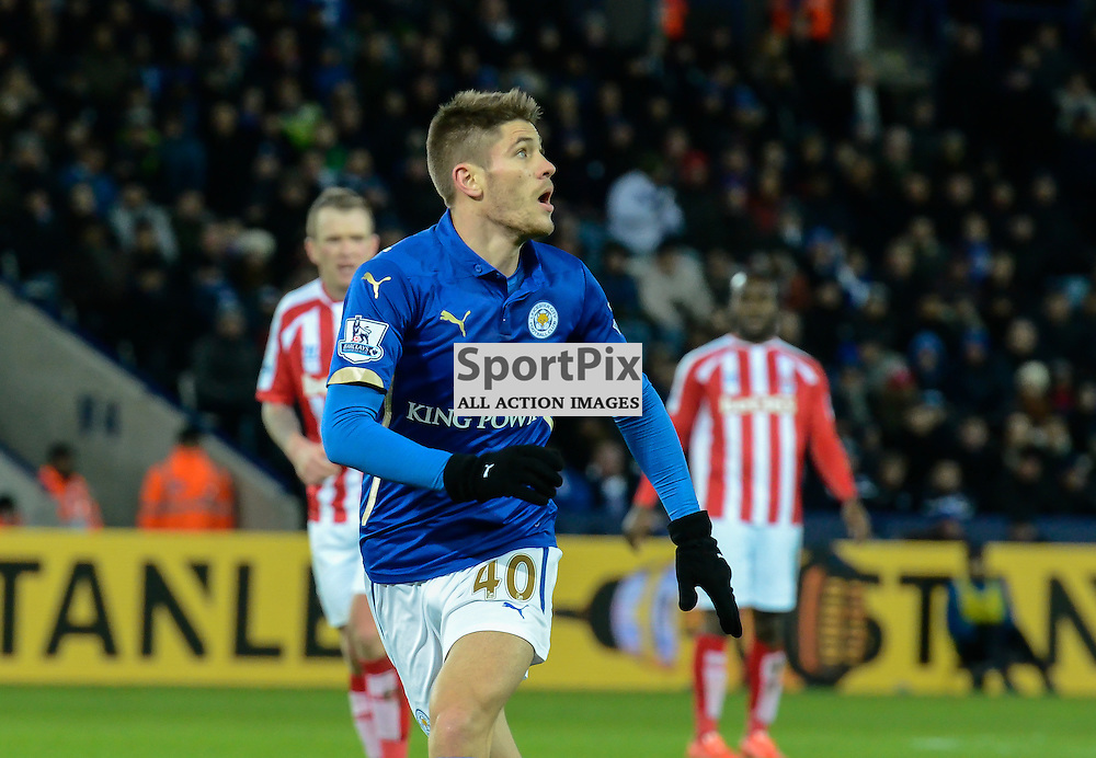 Andrej Kramaric, Leicester's record signing, on as sub during the econd half for his debut (c) Simon Kimber | SportPix.org.uk