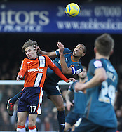 Picture by David Horn/Focus Images Ltd +44 7545 970036.05/01/2013.JJ O'Donnell of Luton Town and Karl Henry of Wolverhampton Wanderers during the The FA Cup match at Kenilworth Road, Luton.