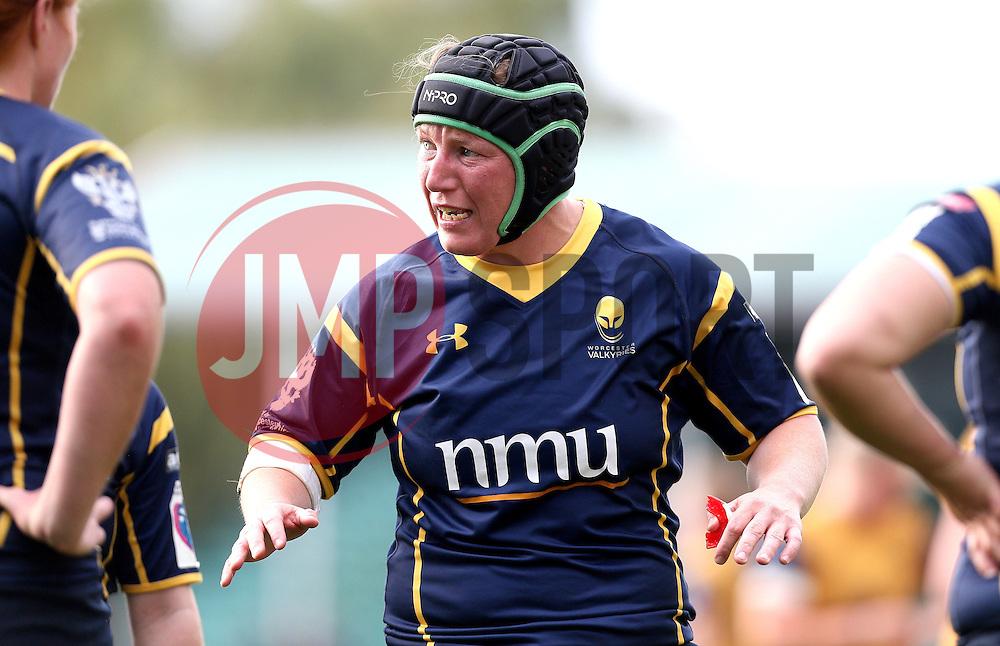 Laura Keates of Worcester Valkyries - Mandatory by-line: Robbie Stephenson/JMP - 24/09/2016 - RUGBY - Sixways - Worcester, England - Worcester Valkyries v Bristol Ladies Rugby - RFU Women's Premiership