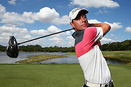 PERTH, AUSTRALIA - FEBRUARY 15: Brett Rumford of Australia poses during previews ahead of the ISPS HANDA World Super 6 Perth at Lake Karrinyup Country Club on February 15, 2017 in Perth, Australia.  (Photo by Paul Kane/Getty Images) *** Local Caption *** Brett Rumford