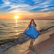 Family Beach Photos by Expressions Beach Portraits in Destin, Florida, Miramar Beach, Florida and Beaches of 30-A High School Senior Beach Photos