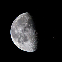 International Space Station the Moon., 7/1/2018