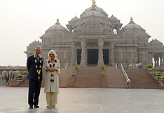 NOV 08 2013 Prince Charles & Camilla in New Delhi