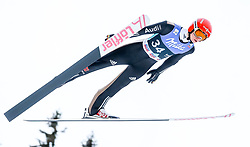 16.03.2017, Granasen, Trondheim, NOR, FIS Weltcup Ski Sprung, Raw Air, Trondheim, im Bild Karl Geiger (GER) // Karl Geiger of Germany // during the 3rd Stage of the Raw Air Series of FIS Ski Jumping World Cup at the Granasen in Trondheim, Norway on 2017/03/16. EXPA Pictures © 2017, PhotoCredit: EXPA/ Tadeusz Mieczynski