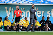 MALMO, SWEDEN - MAY 20: Andreas Alm, head coach of BK Hacken during the Allsvenskan match between Malmo FF and BK Hacken at Malmo Stadion on May 20, 2018 in Malmo, Sweden. Photo by Lars Dareberg/Ombrello ***BETALBILD***