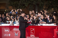 RICCARDO SCAMARCIO SUL RED CARPET DELLA FESTA DEL CINEMA DI ROMA<br /> RICCARDO SCAMARCIO ON THE RED CARPET OF THE ROME FILM FESTIVAL