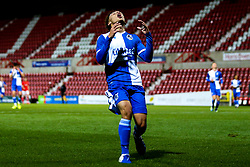 Kinsly Murray of Bristol Roverscuts a frustrated figure - Mandatory by-line: Robbie Stephenson/JMP - 29/10/2019 - FOOTBALL - County Ground - Swindon, England - Swindon Town v Bristol Rovers - FA Youth Cup Round One