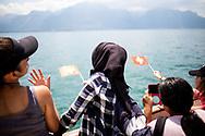 Reportage sur le bateau LA SUISSE de la CGN, sur le lac L&eacute;man, le lundi 25 juin 2018<br /> (OLIVIER MAIRE)