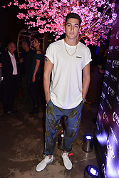 Isaac Carew at the launch of Nobu Hotel London Shoreditch,10-50 Willow Street, London, England. 15 May 2018.