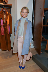EMILIA FOX at a party to celebrate the re-opening of the Jaeger Chelsea Store in association with the NSPCC at 145 Kings Road, London on 24th September 2014.