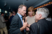 SIR NICHOLAS SEROTA; JULIA PEYTON-JONES; RUTH MACKENZIE, Dinner hosted by Julia Peyton-Jones and Hans Obrist for the Council of the Serpentine to celebrate: Jeff Koons, Popeye Series. Paramount Club, Paramount Centre Point. London. 30 June 2009