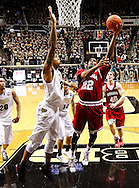 WEST LAFAYETTE, IN - JANUARY 30: Maurice Creek #22 of the Indiana Hoosiers shoots the ball against Rapheal Davis #35 of the Purdue Boilermakers at Mackey Arena on January 30, 2013 in West Lafayette, Indiana. Indiana defeated Purdue 97-60. (Photo by Michael Hickey/Getty Images) *** Local Caption *** Maurice Creek; Rapheal Davis