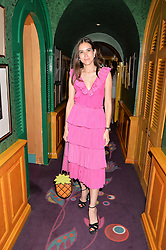 Natalie Salmon at the Annabel's Bright Young Things Party at Annabel's, Berkeley SquareLondon England. 8 June 2017.<br /> Photo by Dominic O'Neill/SilverHub 0203 174 1069 sales@silverhubmedia.com
