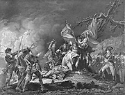 Richard Montgomery (1737-1775) Irish-born soldier in British service (1756-1772), then in American Revolution. As brigadier-general led assault on Quebec in which he was killed.