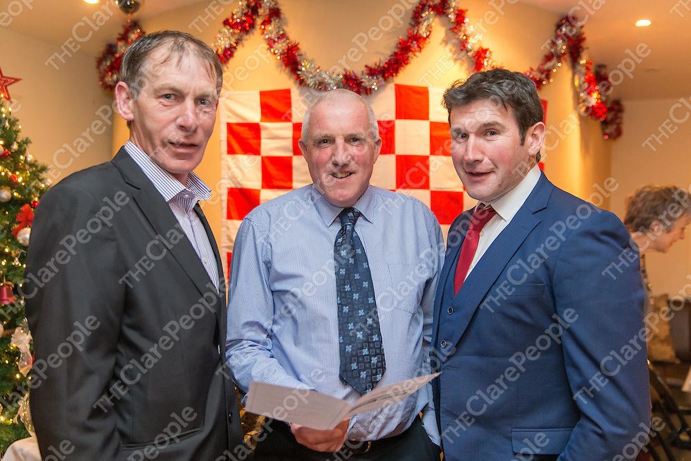 Martin Mullaney, Gerard Crotty and John Liddane, members of the 1991 Naomh Eoin team