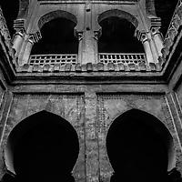 Where: Morocco. A historic building.