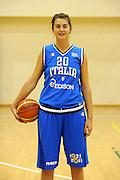 ROMA 02 NOVEMBRE 2011<br /> BASKET NAZIONALE FEMMINILE<br /> NELLA FOTO VALENTINA FABBRI
