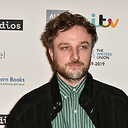 Daniel Kokotajlo attends 2019 Writers' Guild Awards at Royal College of Physicians on 14 January 2019, London, UK