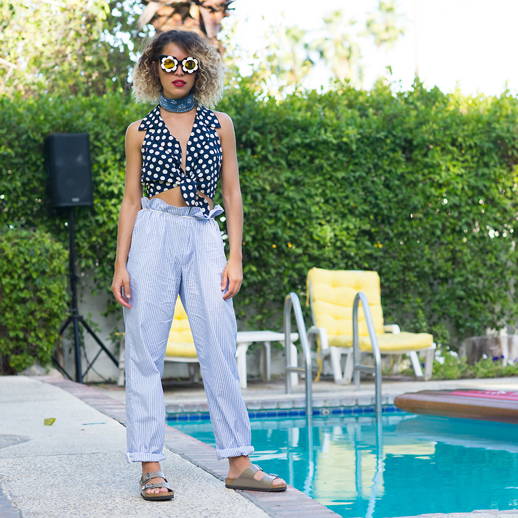 Cleo Wade at the MAC Coachella 2015 party